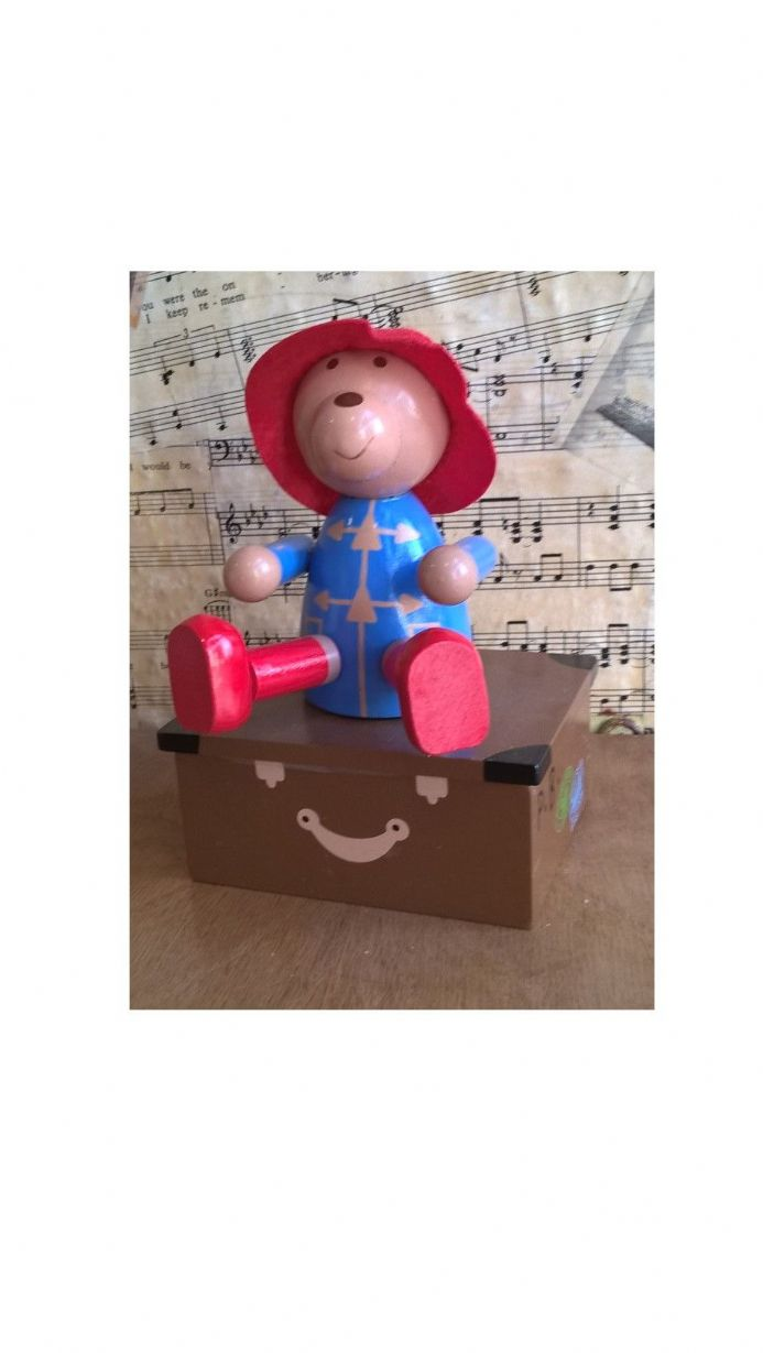 Paddington Bear Musical Figurine / Paddington Bear Music Box